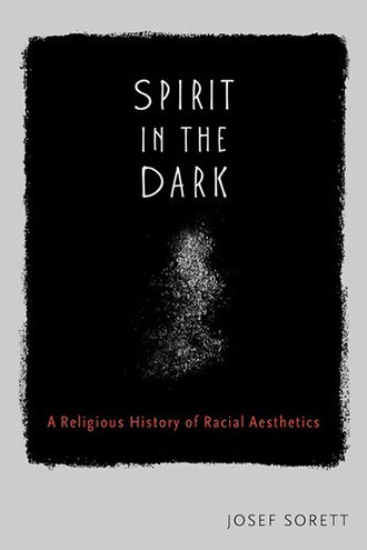 "Book jacket featuring the words ""Spirit in the Dark"" in white against a grainy black background, with a ghostly form beneath"